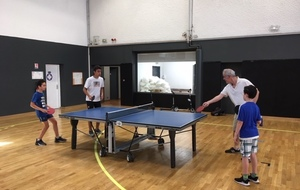 Tennis de table - tournoi du club